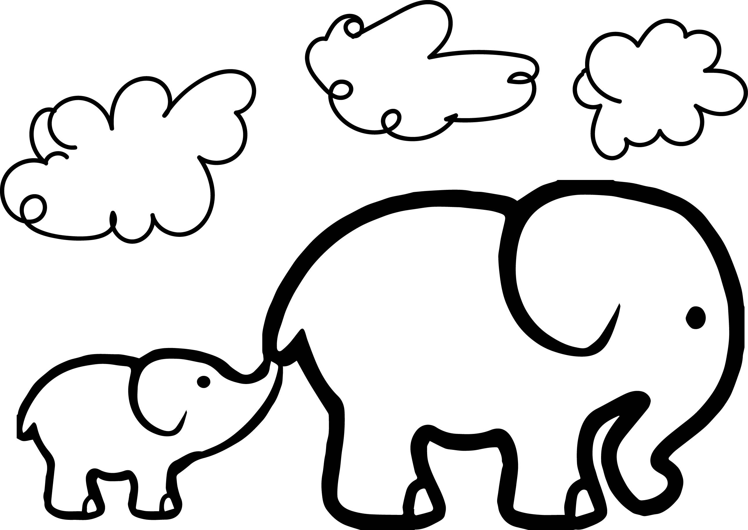 Kids Animal Place Free Elephant Color Page Printable Elephant Coloring Pages  For Kids Animal Place Color Printable Elephant Color Page Elephant