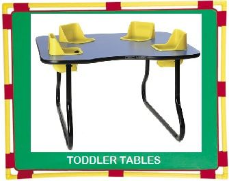 Daycare Furniture Direct Toddler Table And Play Amp Feed
