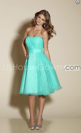 aqua chiffon bridesmaid dresses - Google Search | bridesmaides ...