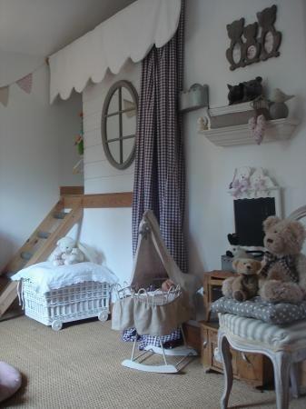 cabane  chambre enfant. Blog Loulou et Tim