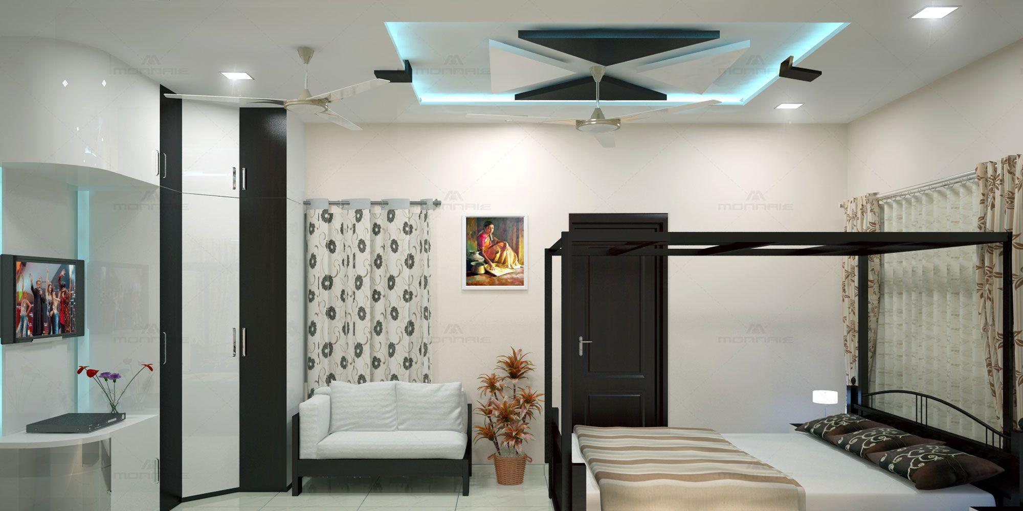 Feel Pleasant Serene Living Room Designs India