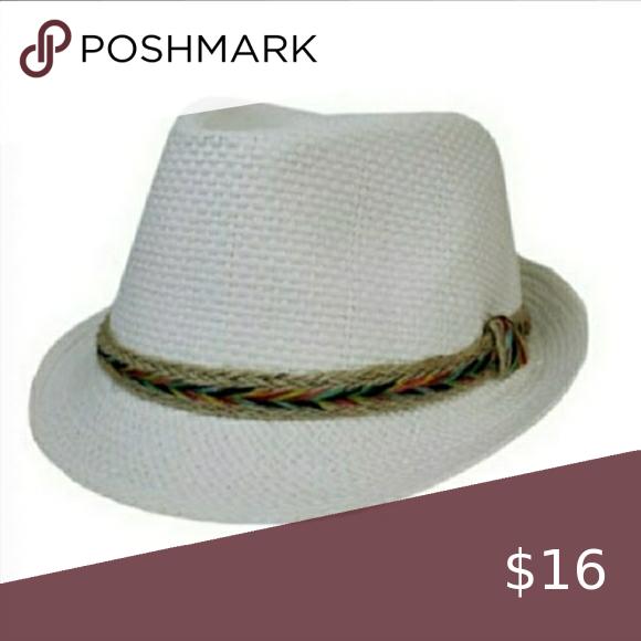 Multi Colored Hemp Fedora Fedora Color Bands Accessories Hats