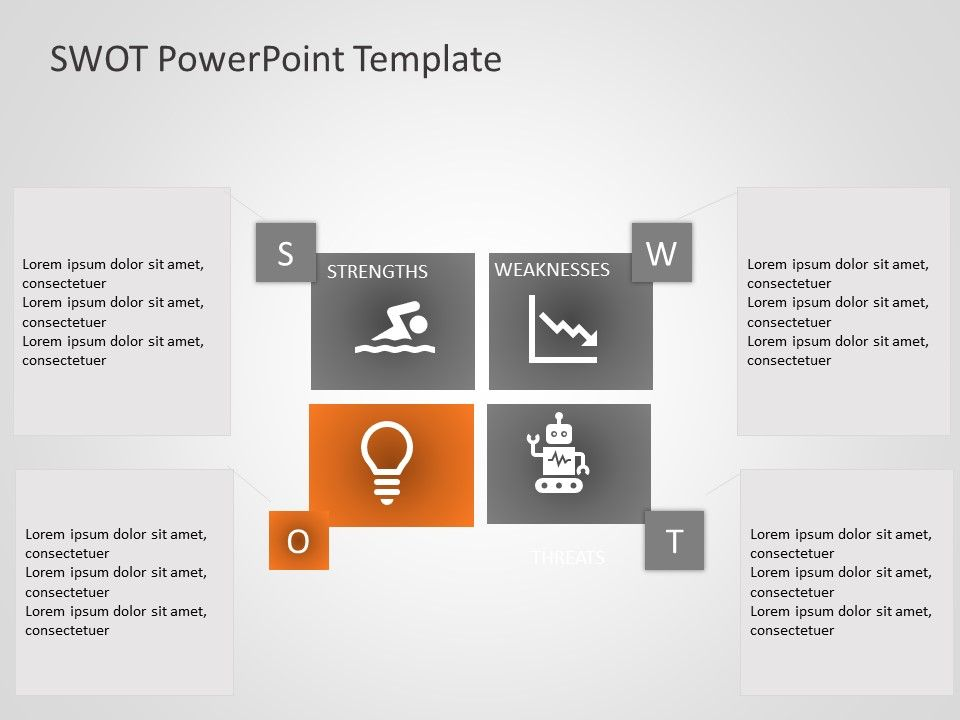 Swot Powerpoint Template General Templates Swot Analysis