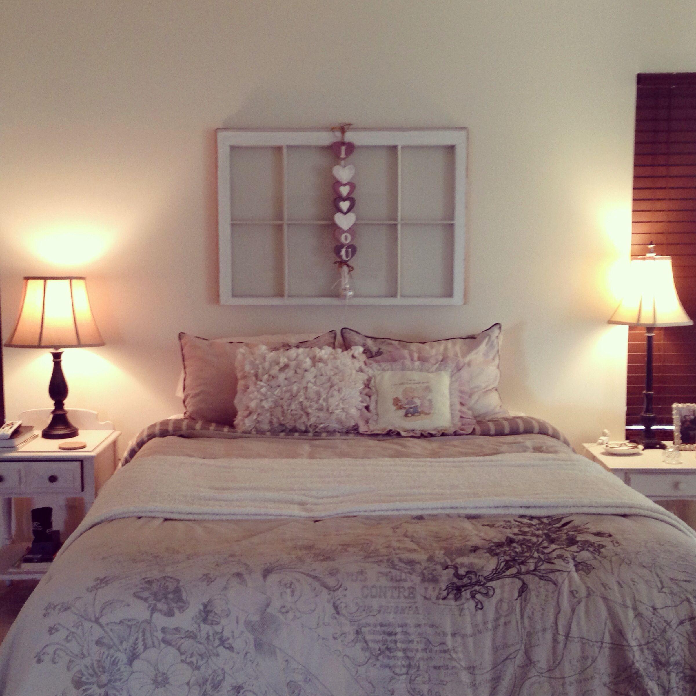 Shabby Chic Bedroom Design Idea: Shabby Chic Bedroom