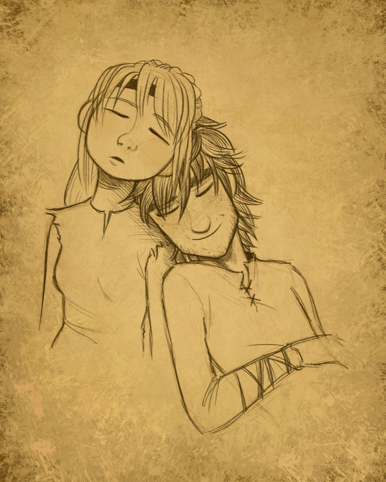 Hiccup and Astrid | heart of a chief, soul of a dragon