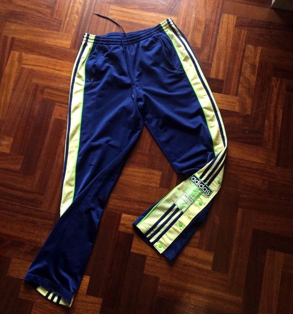 pantaloni adidas uomo vintage