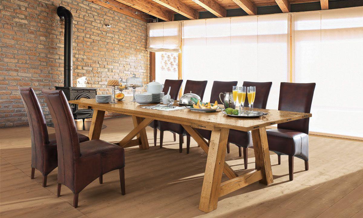Eclettica | Devina Nais | Tavoli in legno, Tavolo legno ...
