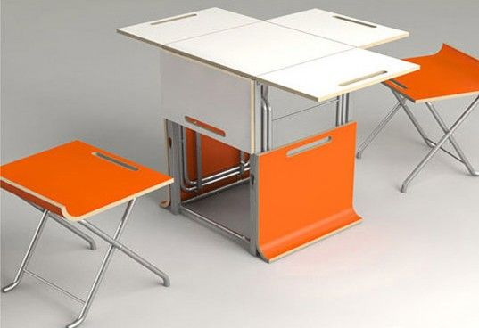 Storage Cube Table, transforming furniture, adapt nyc, tiny ...