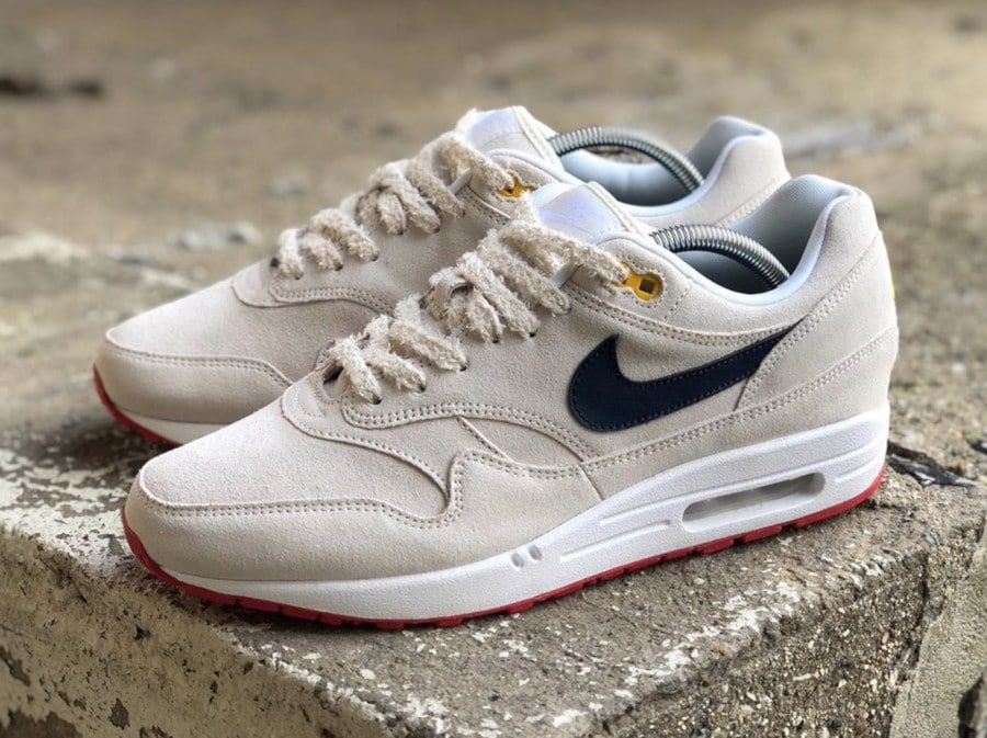 Review] Nike Air Max 1 Suede & Mesh 'White Black' 2018 (femme)