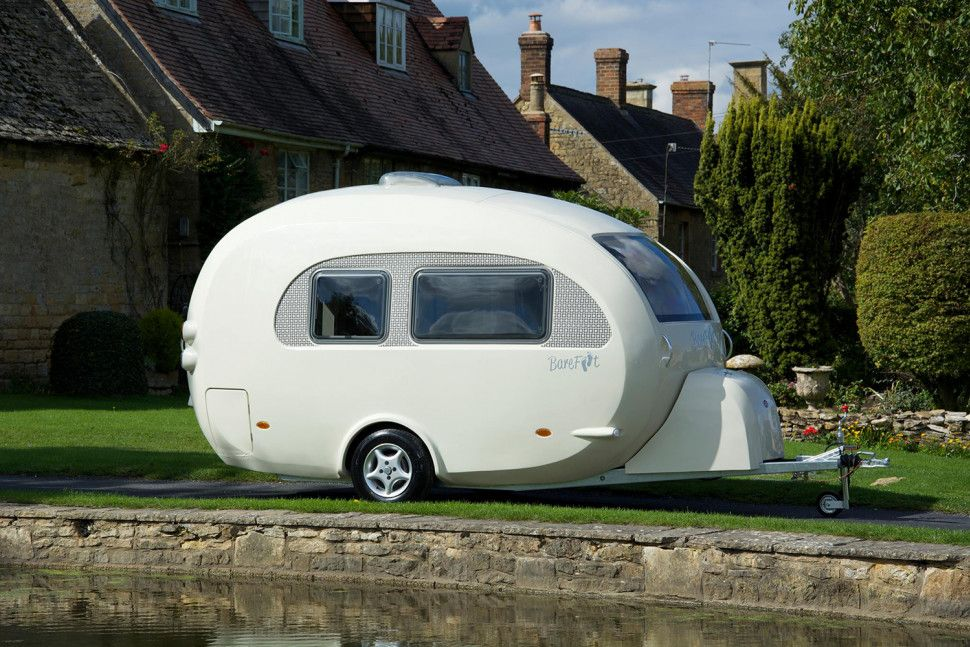 Barefoot Caravan Makes Cool Curved Campers Small Campers