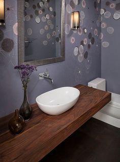Top in legno mensola da bagno per lavabo 180x55x7 | Decorating