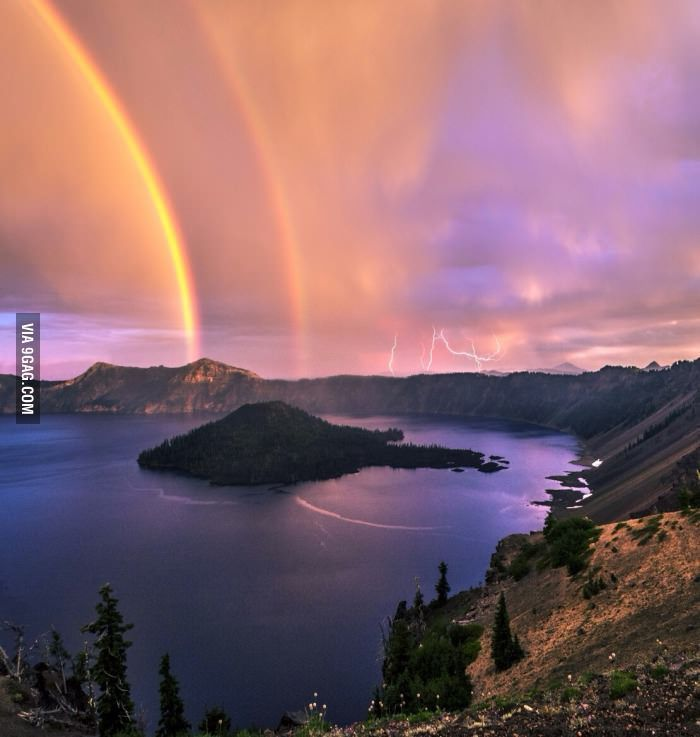 Rainbow and lighting on Crater Lake, Oregon #craterlakeoregon Rainbow and lighting on Crater Lake, Oregon #craterlakeoregon Rainbow and lighting on Crater Lake, Oregon #craterlakeoregon Rainbow and lighting on Crater Lake, Oregon #craterlakeoregon Rainbow and lighting on Crater Lake, Oregon #craterlakeoregon Rainbow and lighting on Crater Lake, Oregon #craterlakeoregon Rainbow and lighting on Crater Lake, Oregon #craterlakeoregon Rainbow and lighting on Crater Lake, Oregon #craterlakeoregon Rain #craterlakeoregon