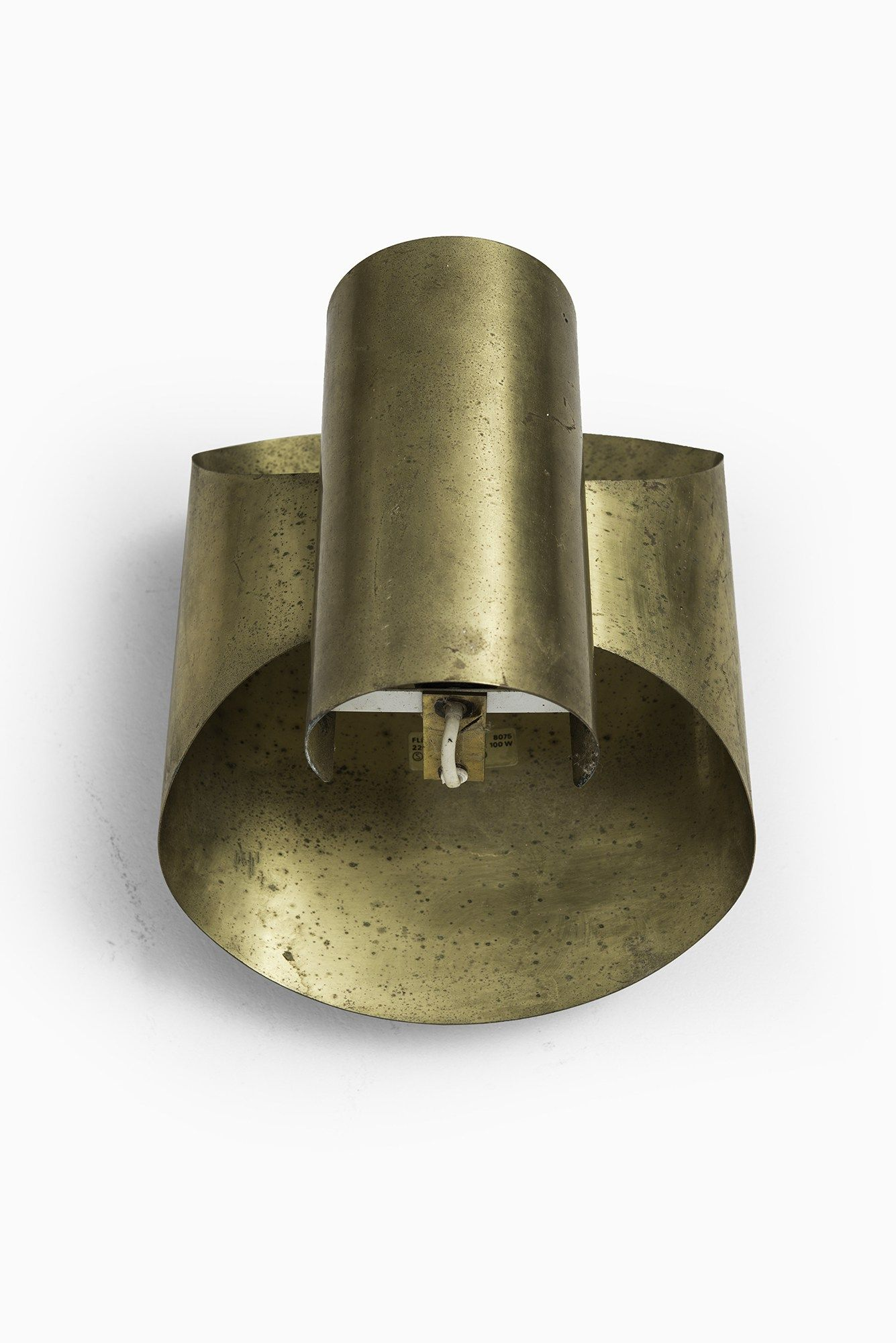Wall Lampin Brass by Falkenbergs Belysning AB a