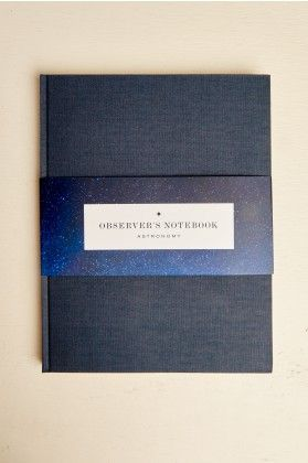 Observer S Notebook Astronomy Earthbound Trading Co Notebook