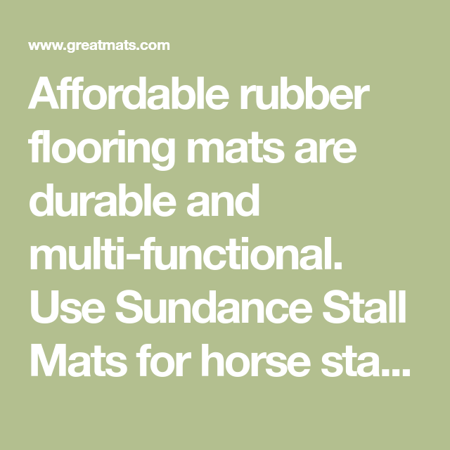 Straight Edge Rubber Pebble Top Horse Stall Mats Gym Stall Matting Rubber Stall Mats Stall Mats Horse