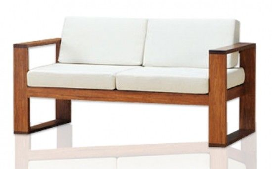 Attractive Simple Wooden Sofa 30847poster