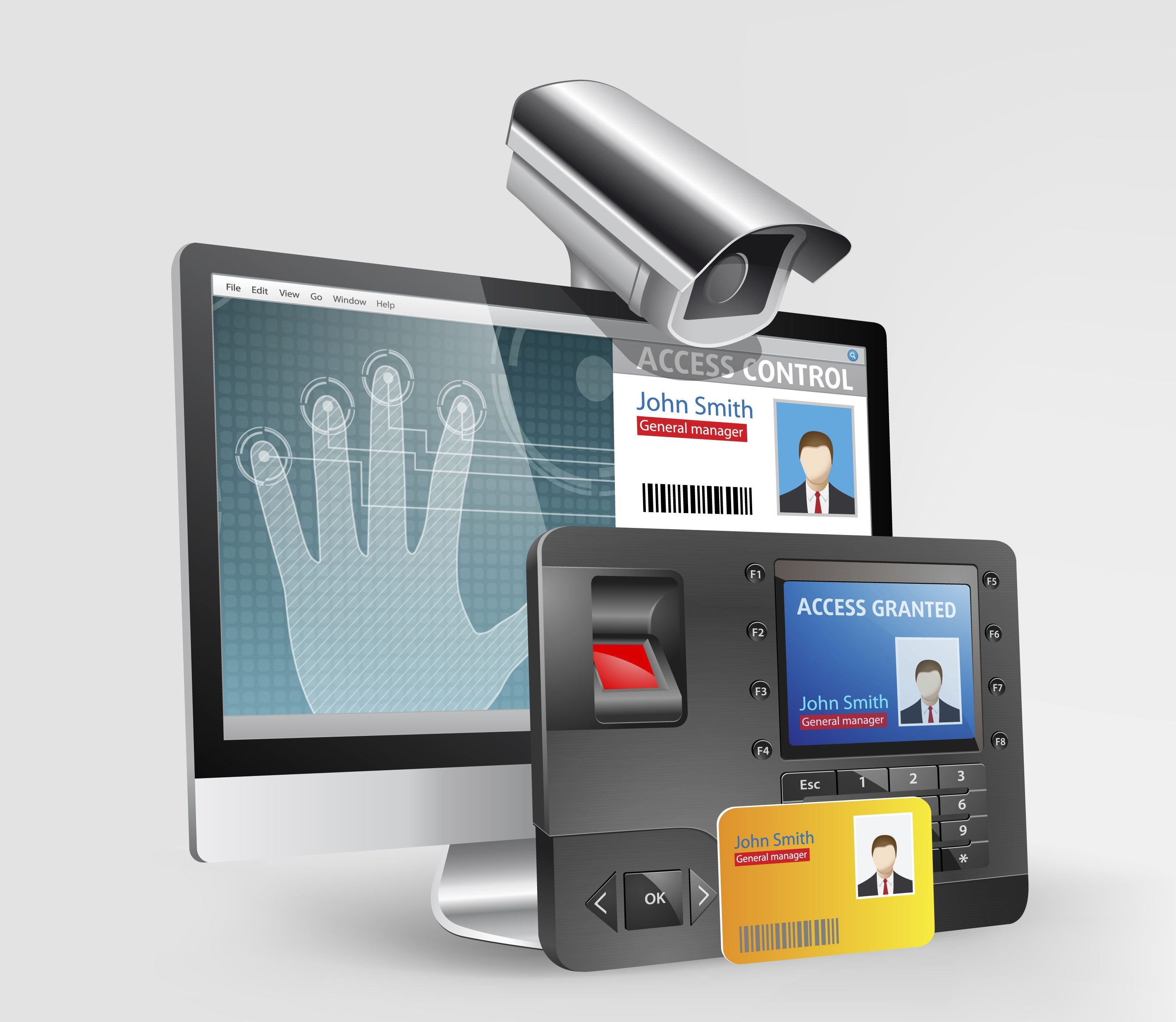 Biometric Attendance System Is Used To Take Employee