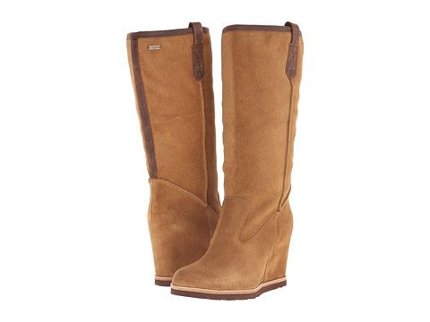 Womens Boots UGG Soleil Chestnut Suede/Leather