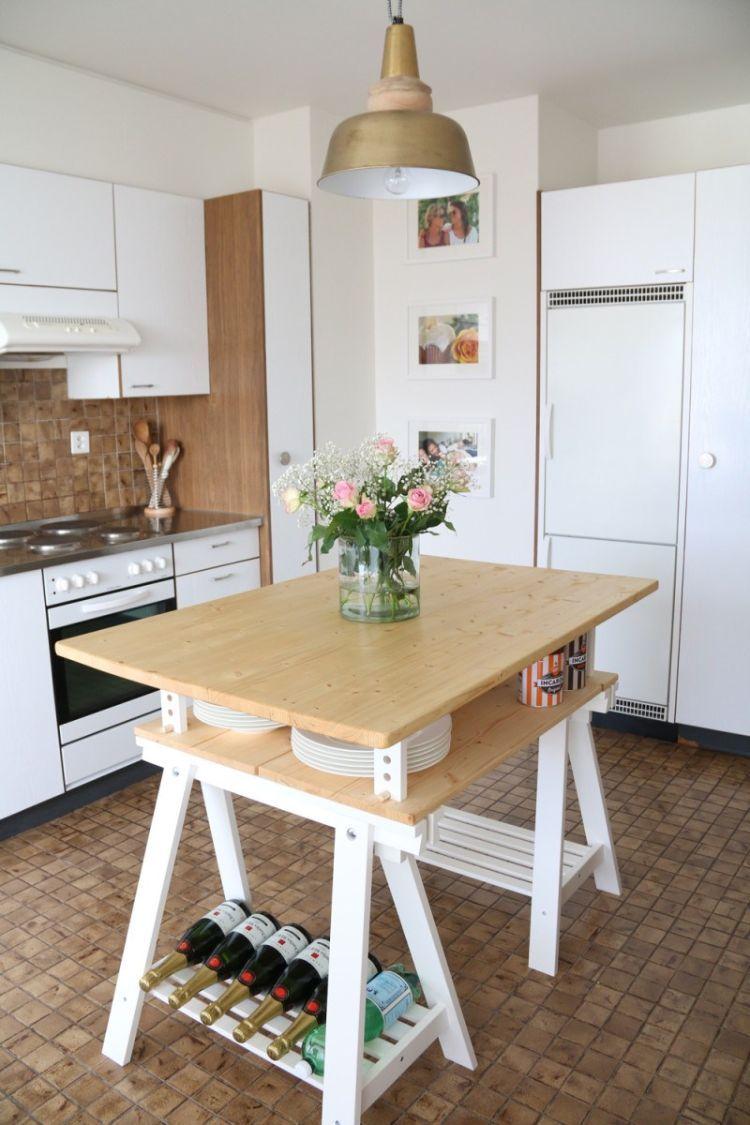 küche selber bauen ikea schrank