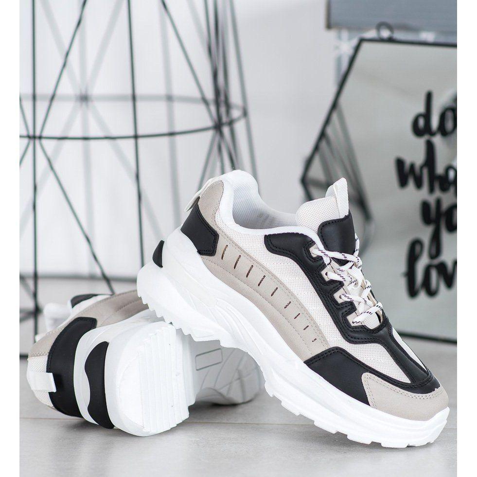 Shelovet Modne Buty Na Platformie Wielokolorowe Sneakers Nike Nike Air Max Air Max Sneakers