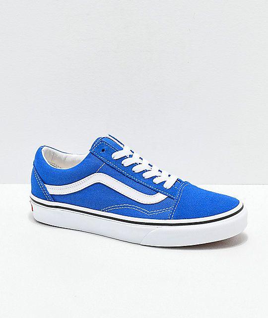 vans old skool mens blue