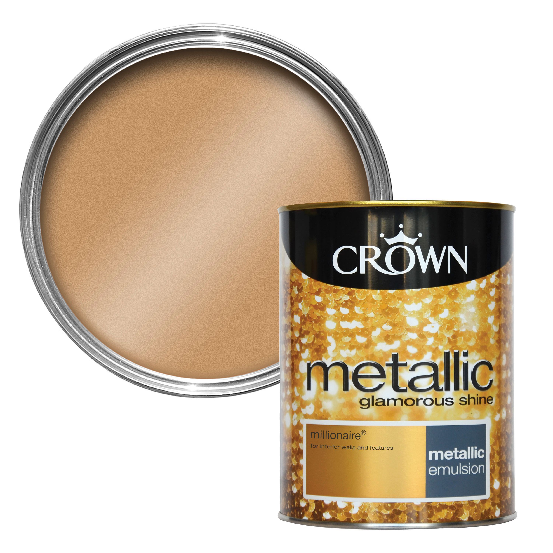Crown Fashion For Walls® Millionaire Emulsion Paint 1.25L