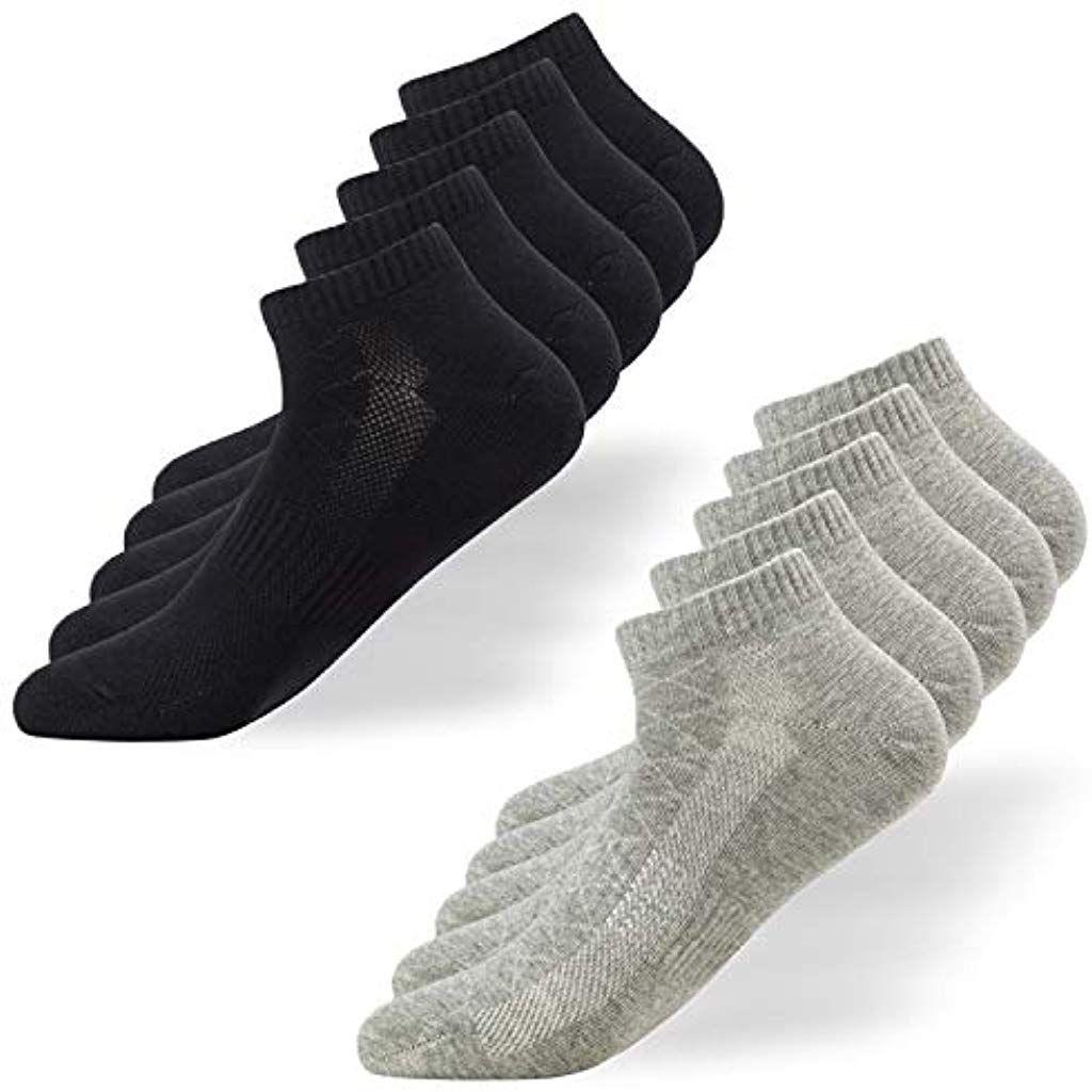 Snocks ® Herren & Damen Unsichtbare Sneaker Socken (6x Paar