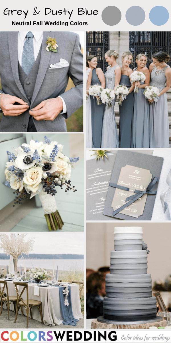 46+ Dusty blue wedding theme ideas