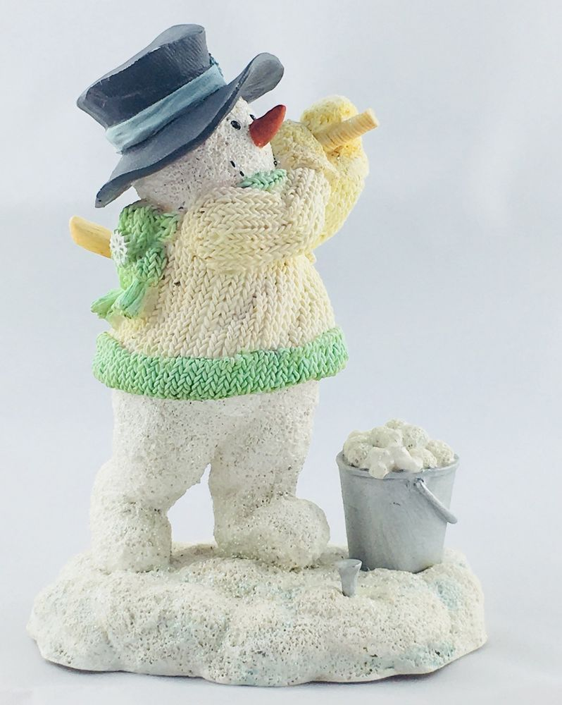 Russ Ice Sculptures Dreaming of a Green Christmas Golfing Snowman ...
