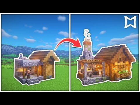 ► How To Transform The BlackSmith WeaponSmith Village House In Minecraft