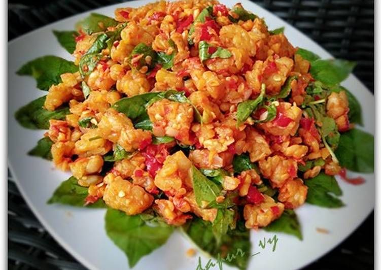 Resep Sambel Tempe Kemangi Maknyos Oleh Dapurvy Resep Resep Makanan Asia Makan Malam Resep Masakan