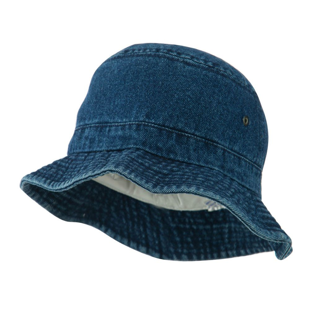 b6474609c Youth Denim Washed Bucket Hat - Dark Blue | hats | Hats, Boys ...