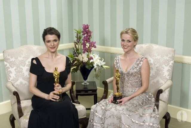 Oscars A Look Back 78th Annual Academy Awards Rachel Weiz And Reese Witherspoon