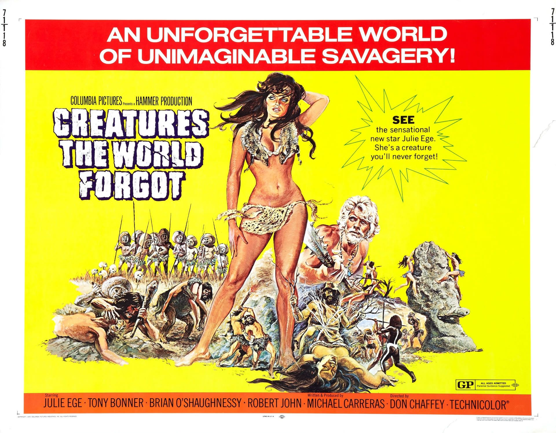 1950s Creatures The World Forgot | B movie, Film posters art ...