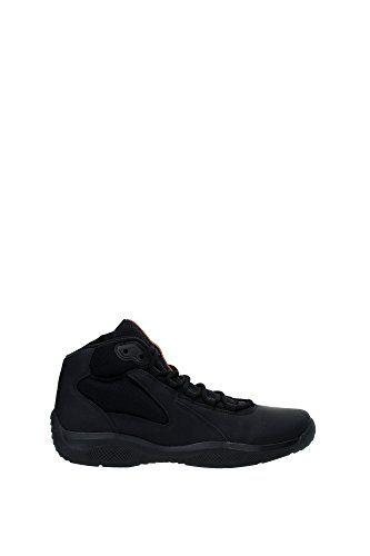 Hombre Get Fit Malla El Correr Entrenadore Atlético Para Caminar Zapato - Negro/Negro - 45 BT0047 ULFHlxe5ie