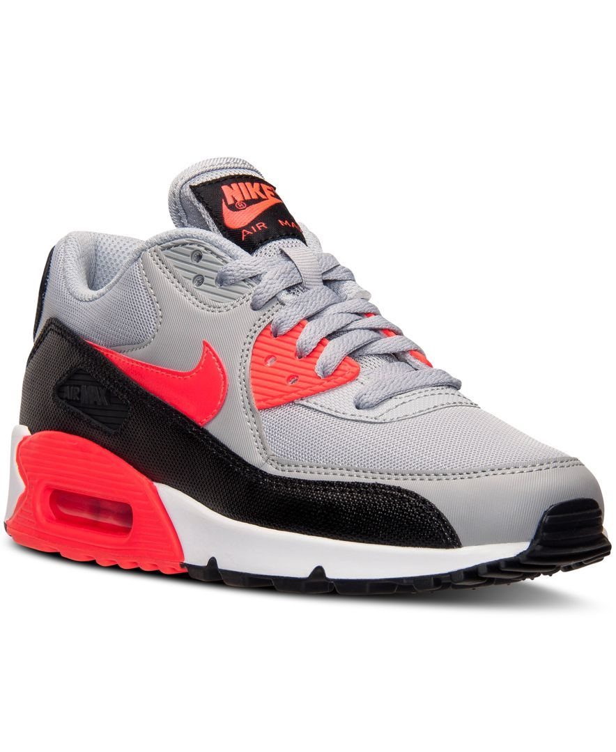 finest selection ad941 c3ca6 Nike Womens Air Max 90 Essential Running Sneakers from Finish Line