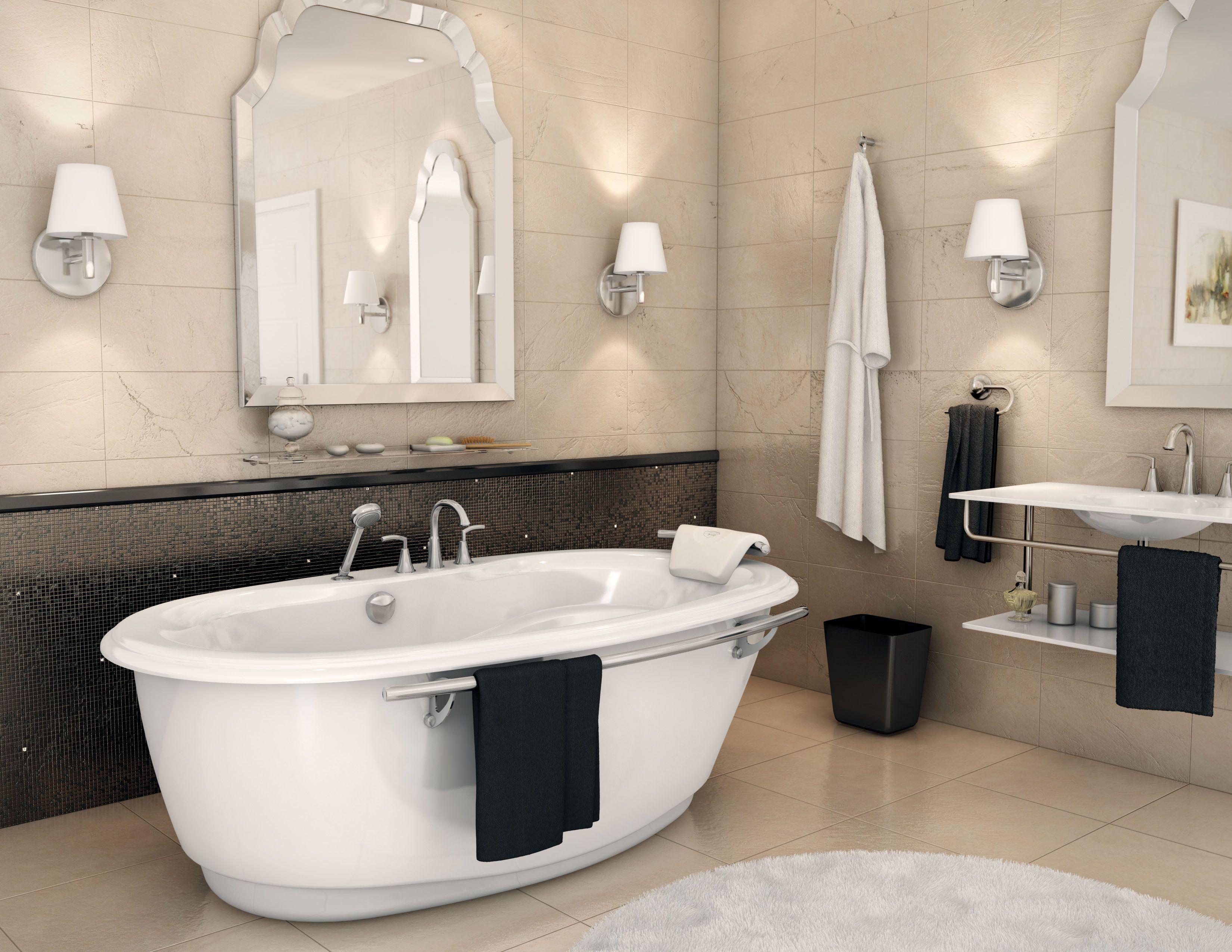 MAAX Souvenir F Soak #maax #bathtub #bathroom | #Bathroom ...