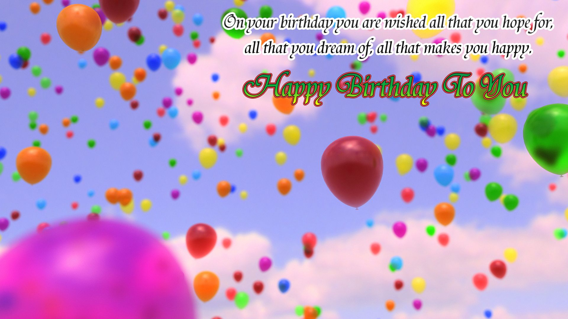 Happy Birthday Wishes Wallpapers Find best latest Happy Birthday