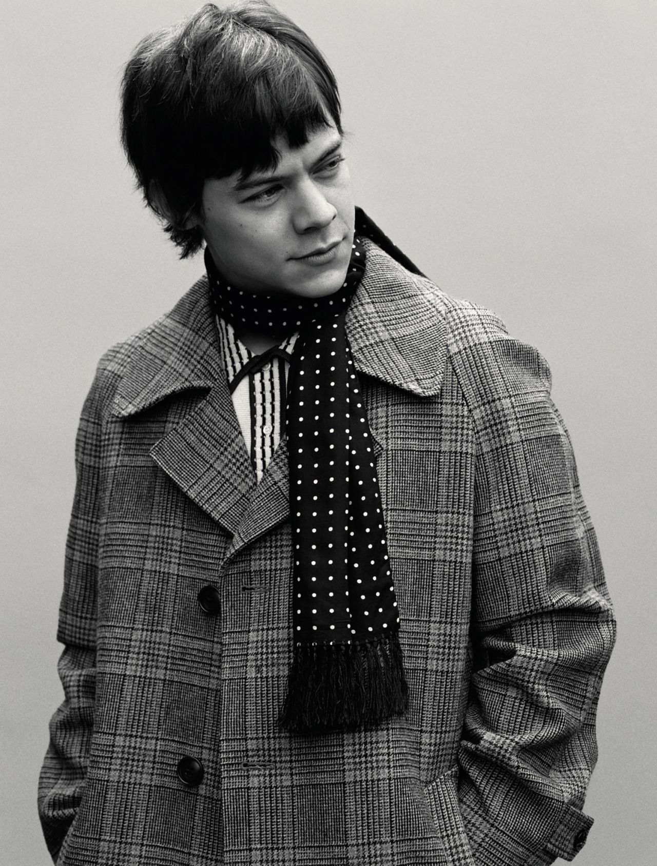 Harry Styles wearing Marc Jacobs Fall '16. Shot by Alasdair McLellan, styled by Alister Mackie for Another Man