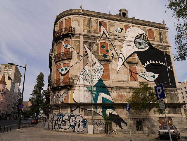 Murales 3d bala