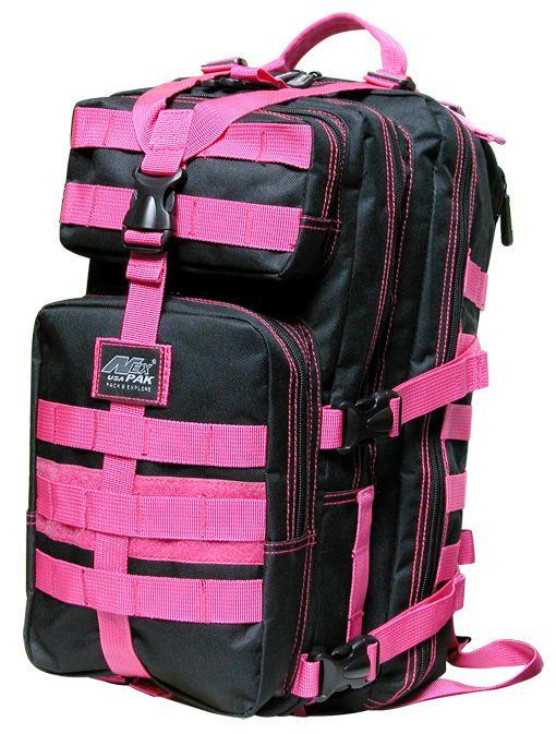 Medium Transport Pack Black Pink Backpack Free Ship Molle Tactical Hunting Nexpak