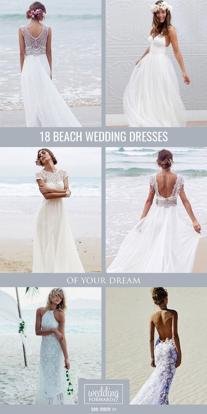 beach wedding dresses perfect for destination weddings beach