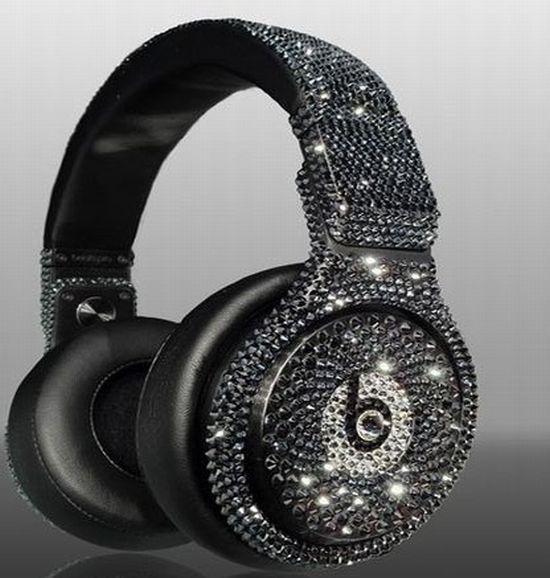 Crystal Beats By Dre Headphones Dre Headphones Over Ear Headphone Black Headphones