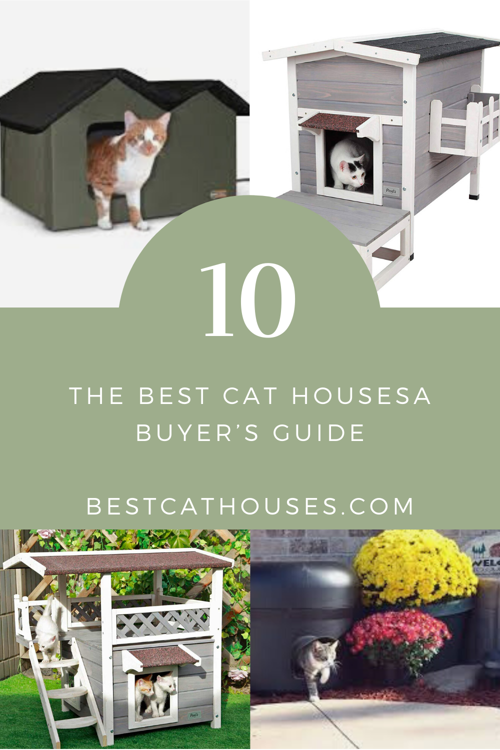 Best Cat Houses A Buyer S Guide Cat House Cool Cats Cats
