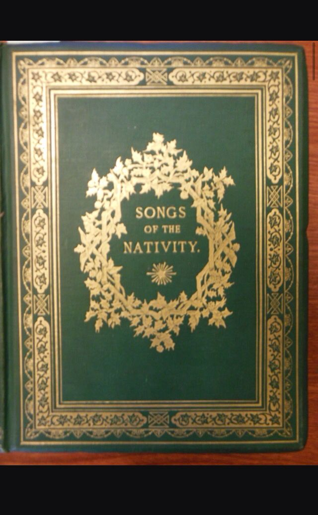 Christmas carol hymn book cover   Christmas carol, Art quotes, School play