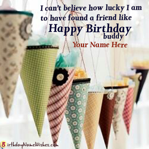 Pin On Happy Birthday Wishes For Friends With Name