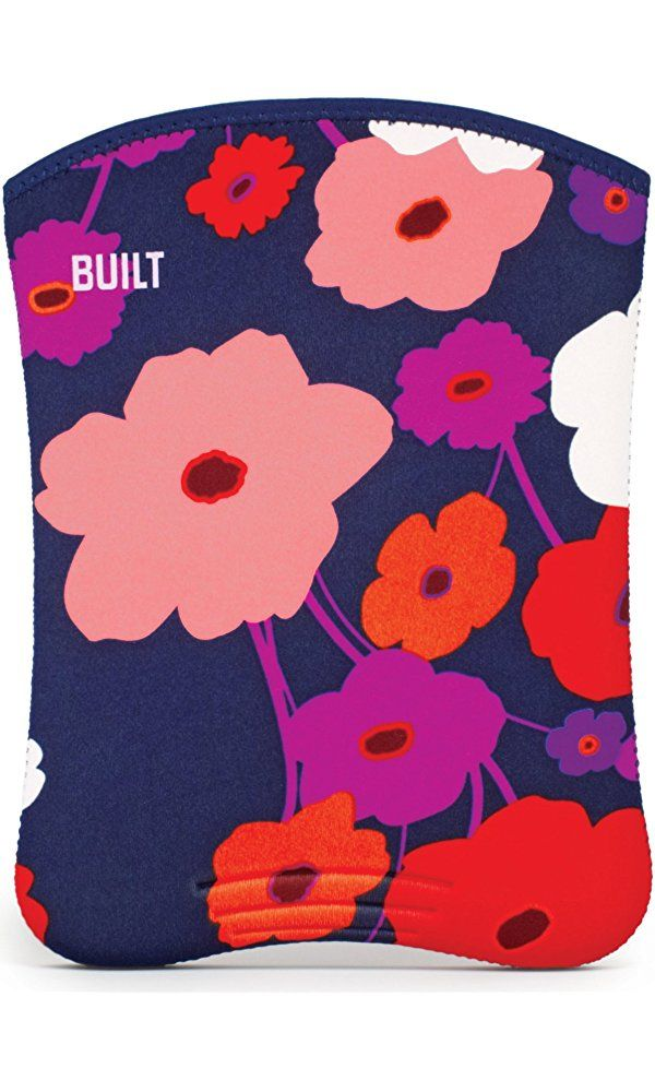BUILT Neoprene Slim Sleeve for all iPads, Lush Flower Best Price