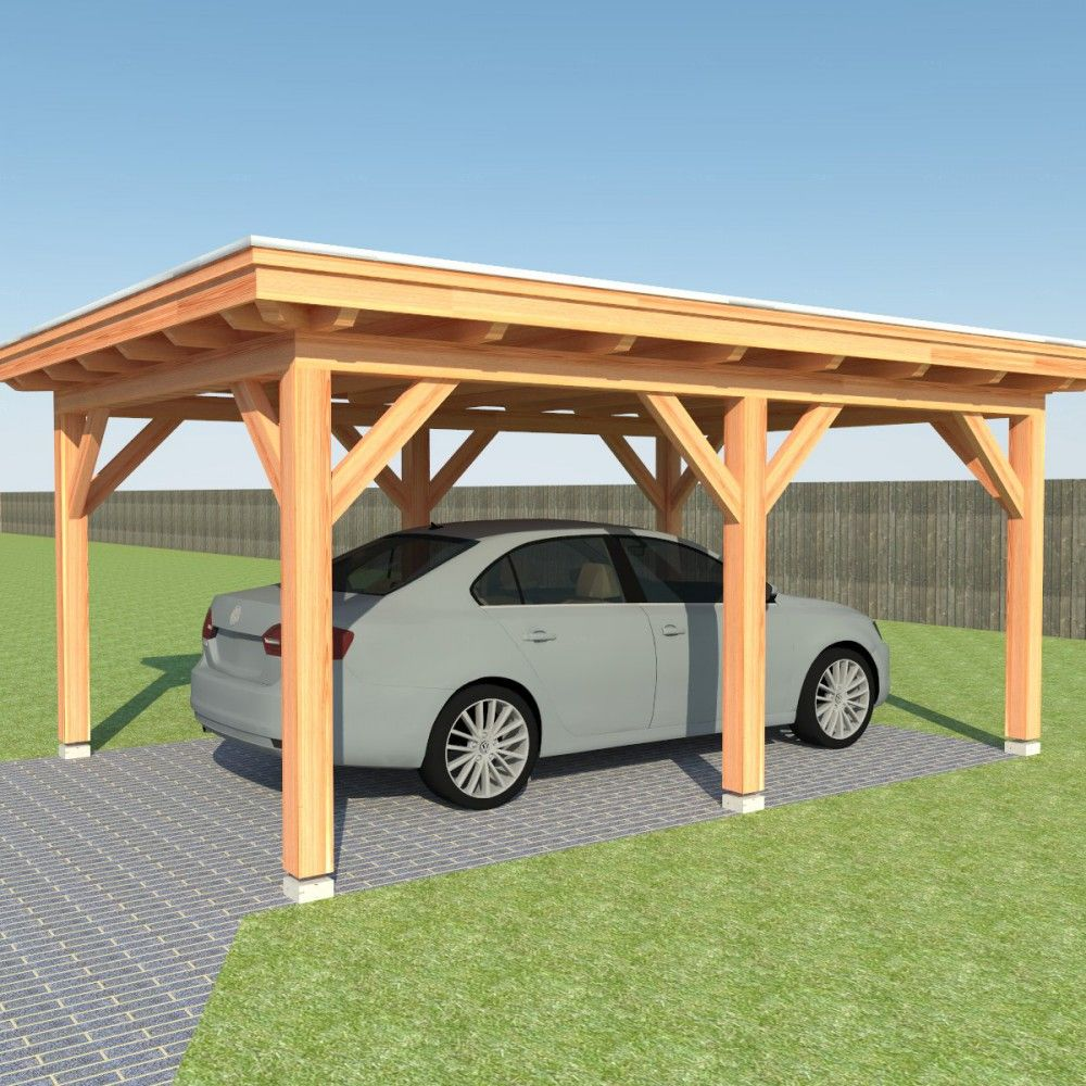 Carport bouwen | Cabin