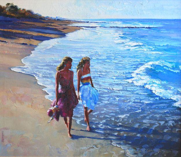 Howard Behrens - Beach Walking, California