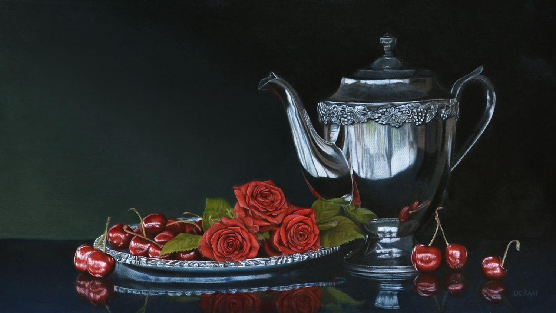Roses and Cherries by deRaat.deviantart.com on @deviantART